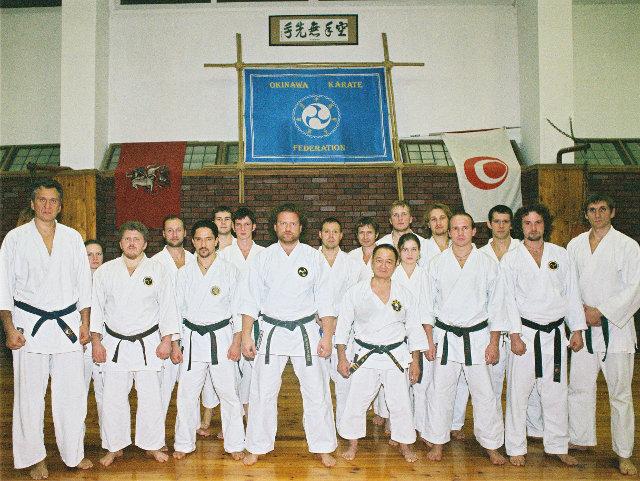 Un séminaire le karaté d'Okinawa.