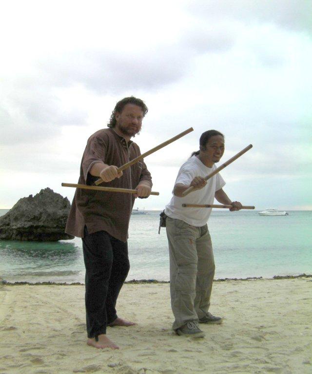 L'Eskrima philippin. Avec Maître Ibno Roy T. Maguindanao.