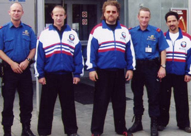 Un séminaire pour les policiers suisses, Zurich, 2005.